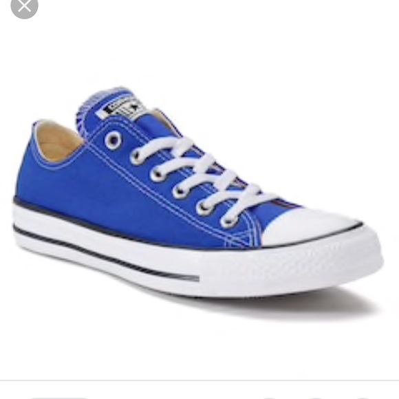 Royal Blue Converse Sneakers Low